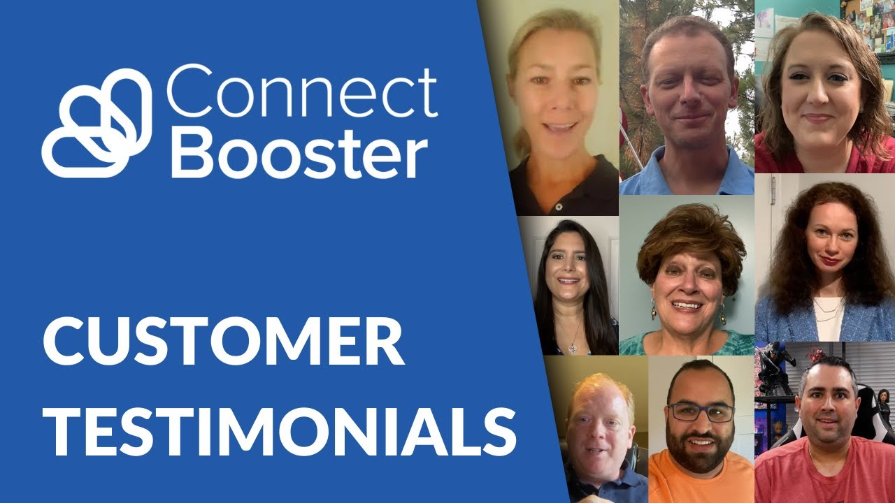 Hear what our customers love about ConnectBooster!