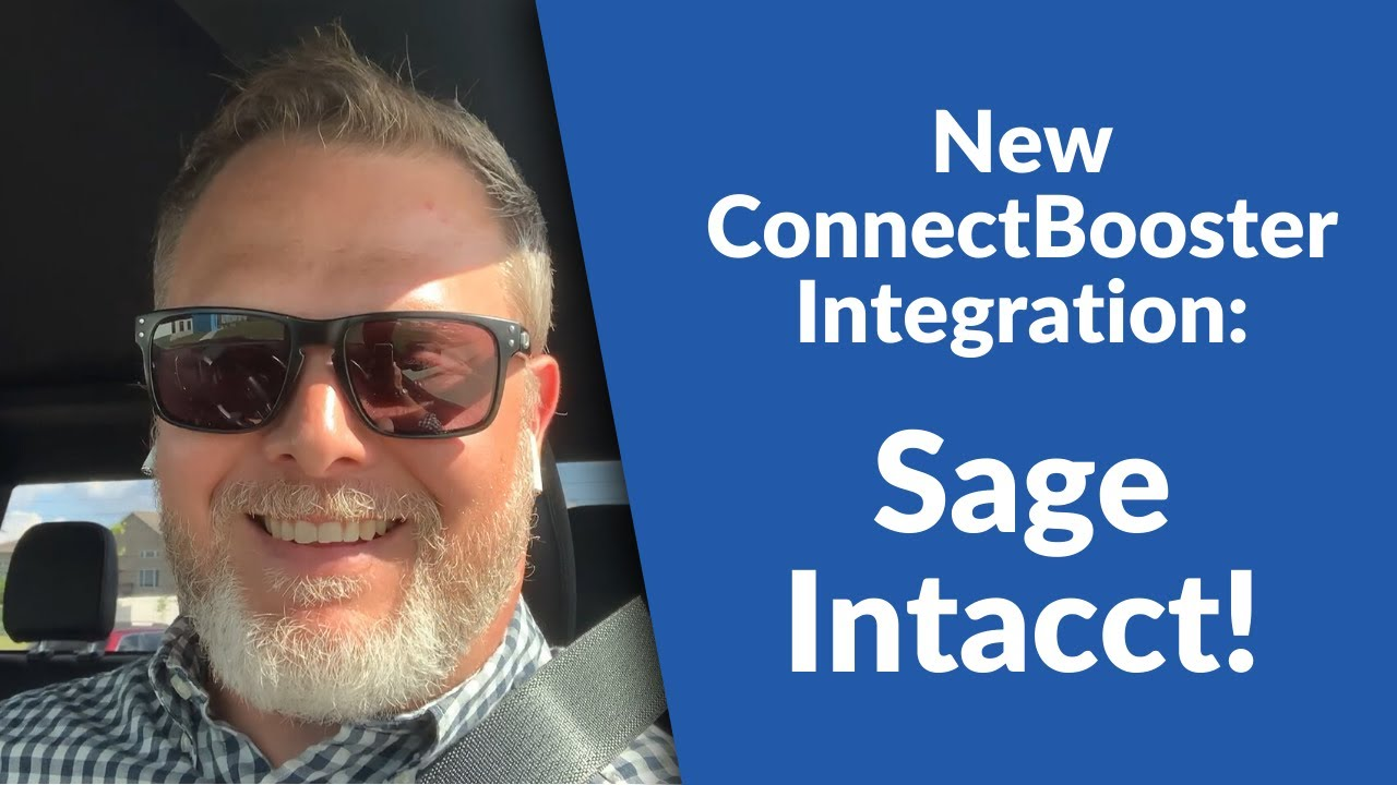 New ConnectBooster Integration: Sage Intacct!