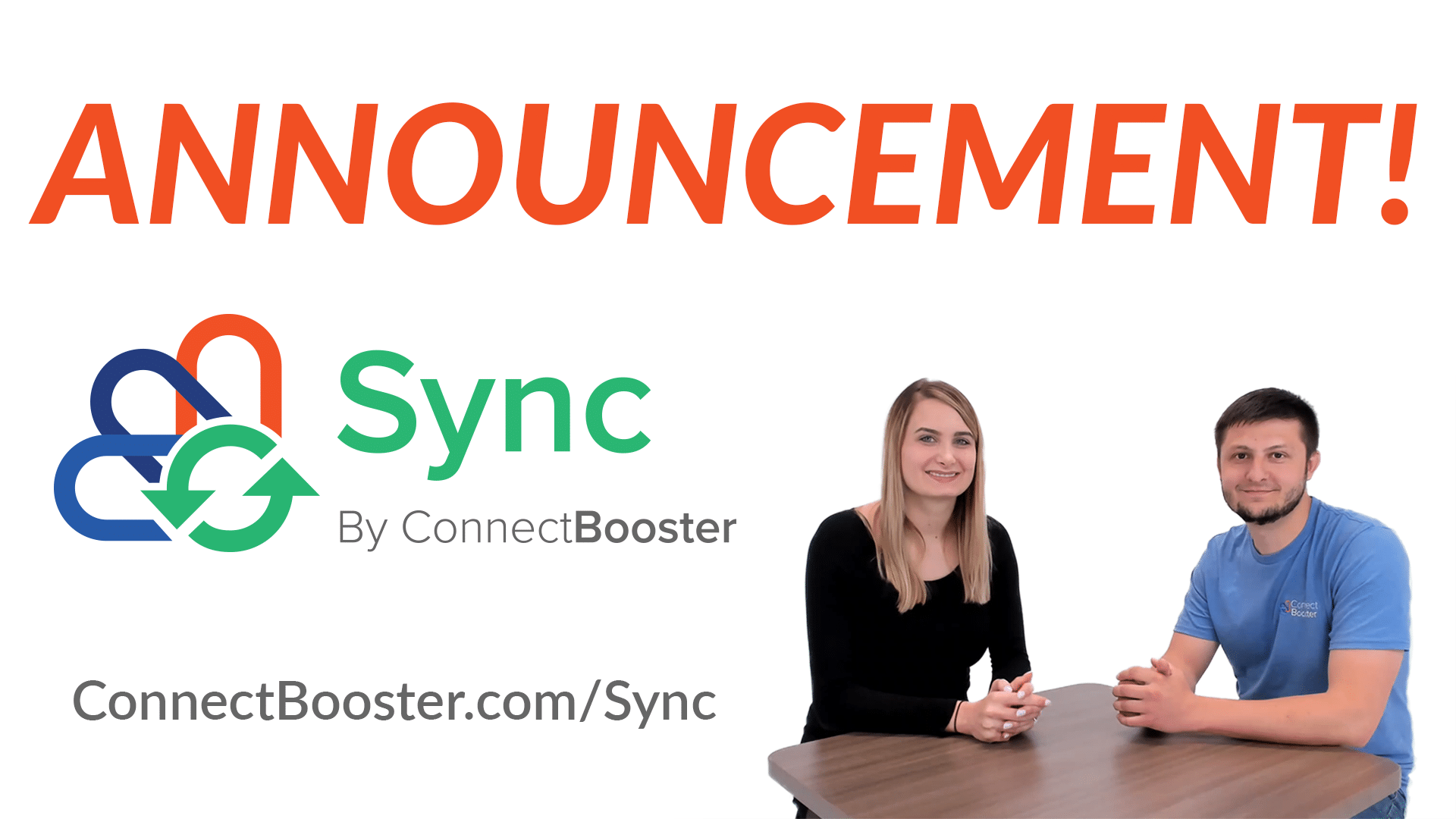 Sync by ConnectBooster Announcement | Sync Invoices with One Click